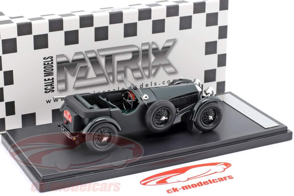Invicta 4.5 ltr S-Type #128 winnaar Rallye Monte Carlo 1931 D. Healey 1:43 Matrix