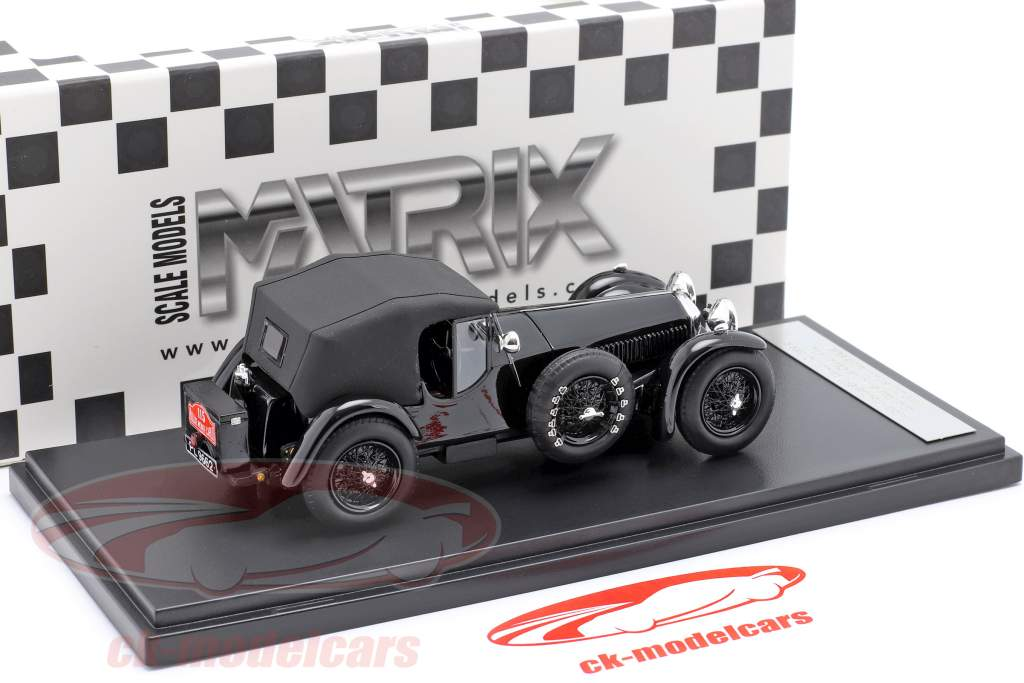 Invicta 4.5 ltr S-Type #115 2 ° Rallye Monte Carlo 1932 D. Healey 1:43 Matrix