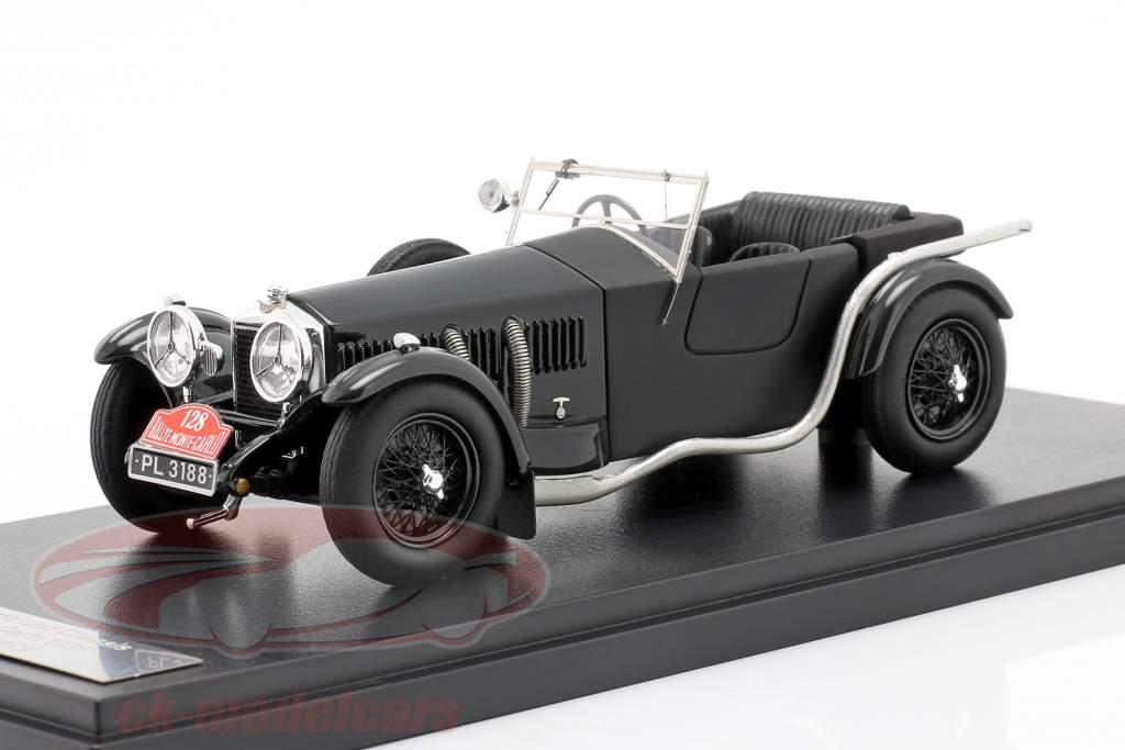 Invicta 4.5 ltr S-Type #128 vinder Rallye Monte Carlo 1931 D. Healey 1:43 Matrix