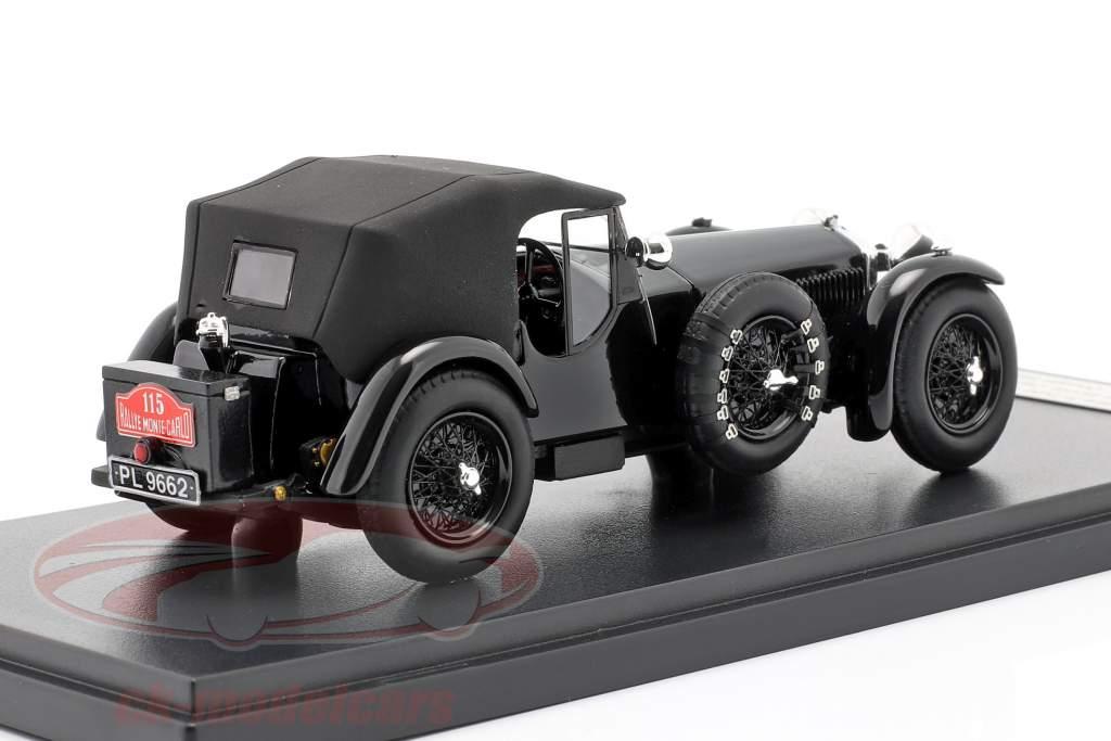 Invicta 4.5 ltr S-Type #115 2. plads Rallye Monte Carlo 1932 D. Healey 1:43 Matrix
