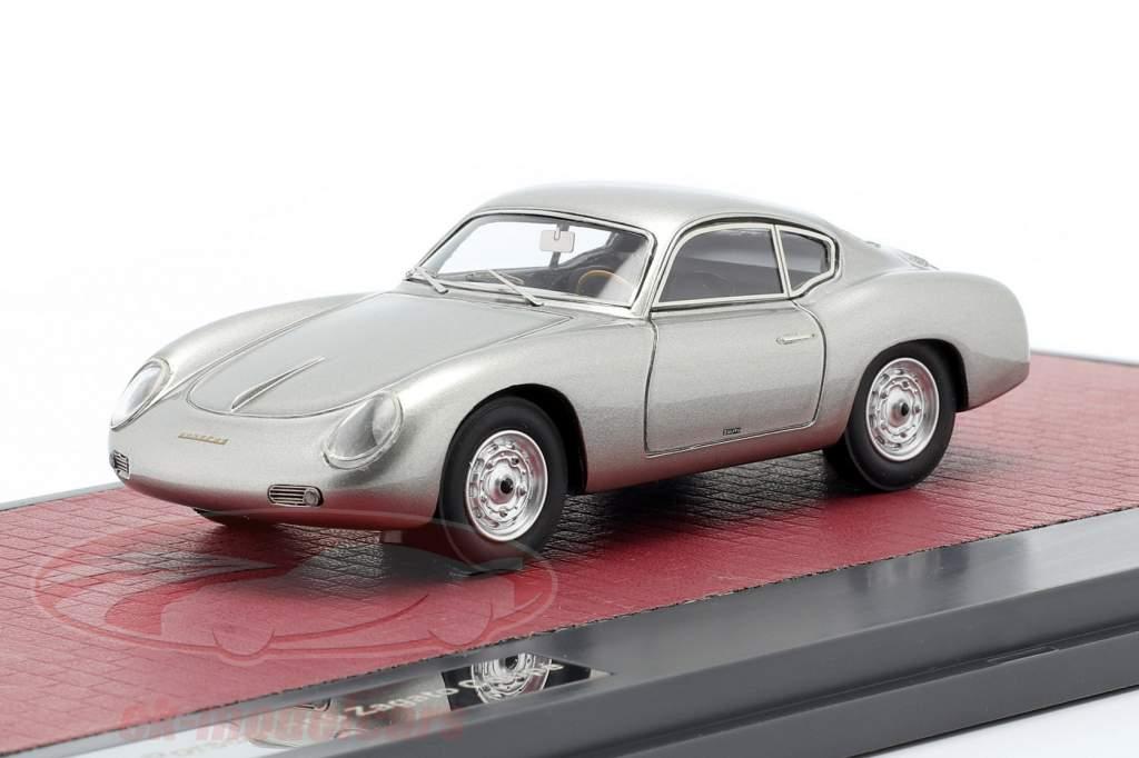 Porsche 356 Zagato Coupe Byggeår 1959 sølv 1:43 Matrix