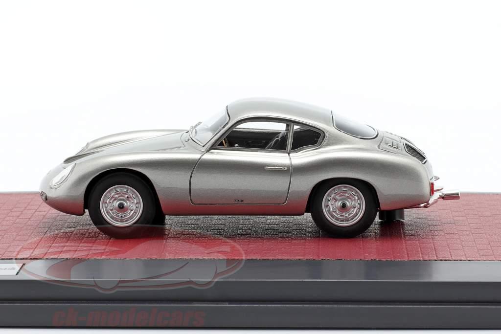 Porsche 356 Zagato Coupe Année de construction 1959 argent 1:43 Matrix