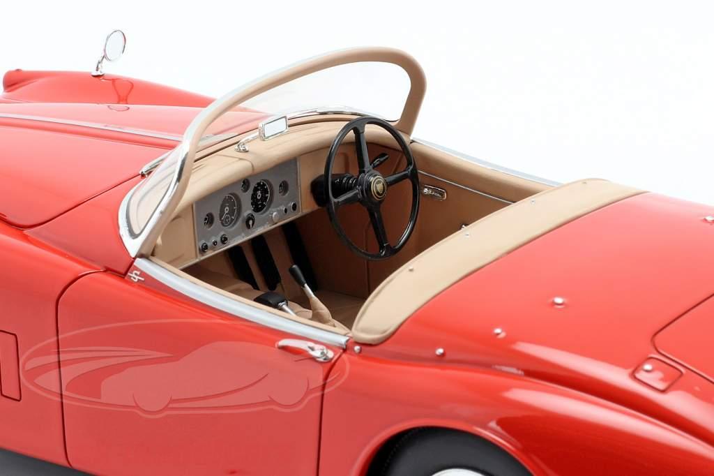 Jaguar XK150 OTS Roadster Année de construction 1958 rouge 1:18 Cult Scale