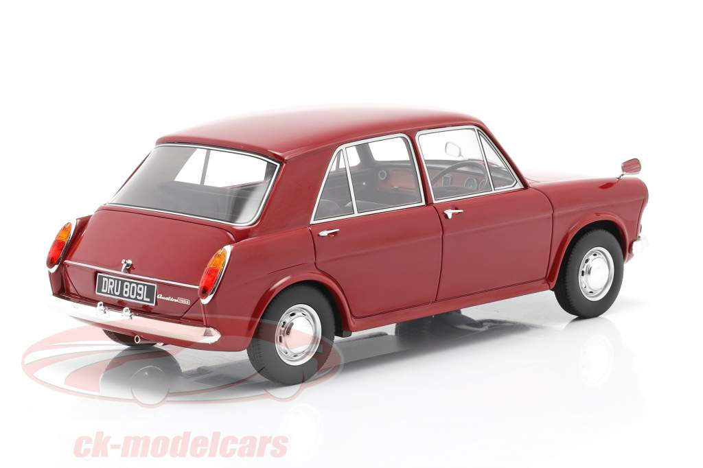 Austin 1100 Byggeår 1969 rød 1:18 Cult Scale