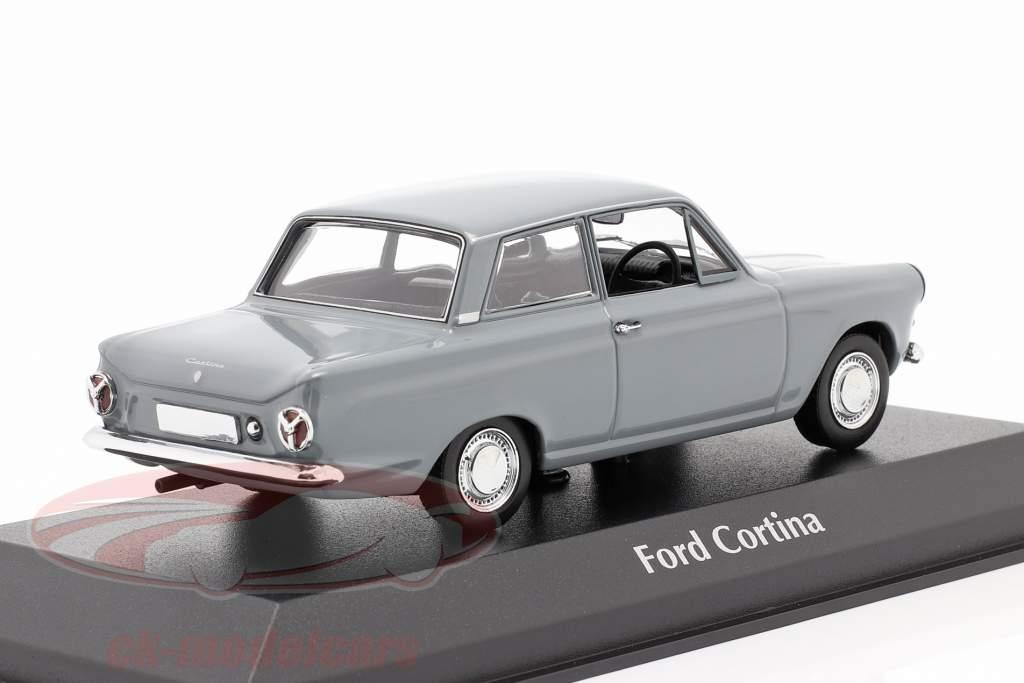 Ford Cortina MK I Anno di costruzione 1962 Grigio 1:43 Minichamps