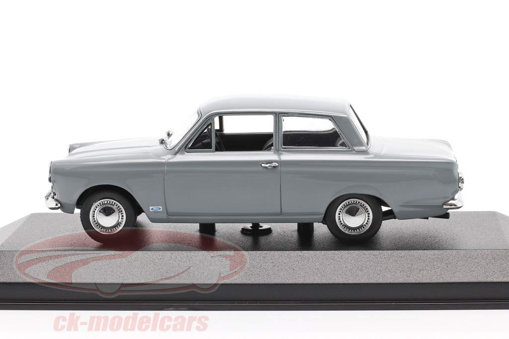 Ford Cortina MK I year 1962 grey 1:43 Minichamps