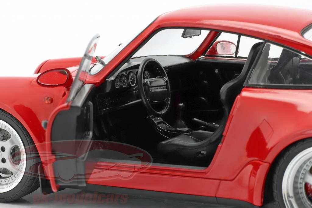 Porsche 911 (964) 3.6 Turbo Anno di costruzione 1990 guardie ✔ rosso 1:18 Solido