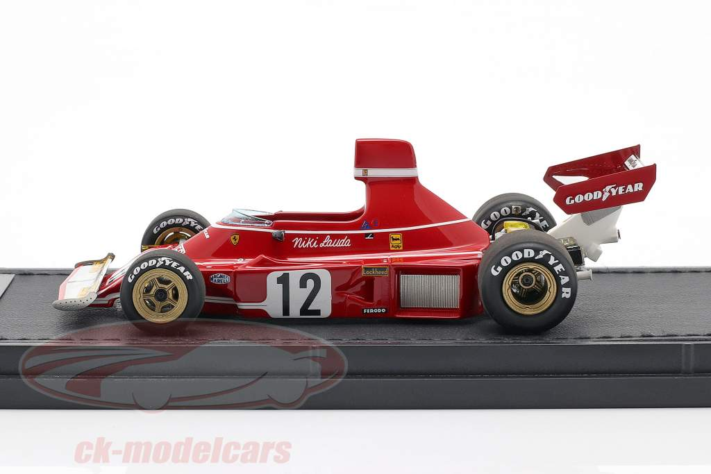 Niki Lauda Ferrari 312B3 #12 formula 1 1974 1:43 GP Replicas