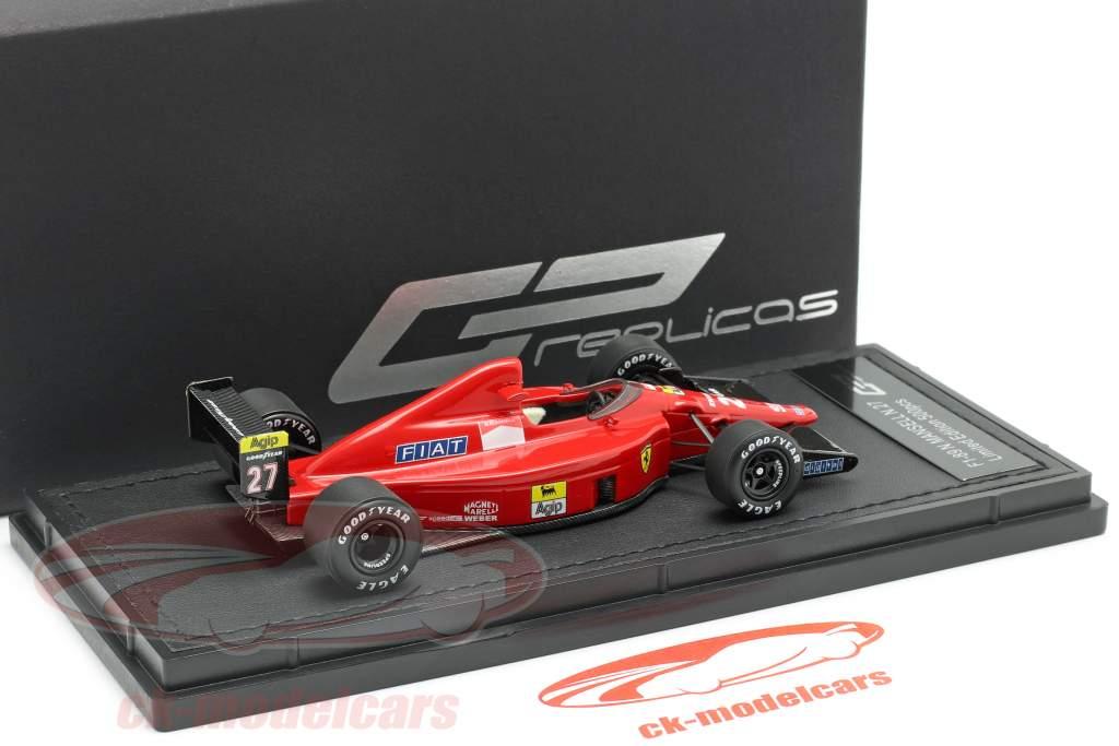 Nigel Mansell Ferrari 640 #27 formula 1 1989 1:43 GP Replicas