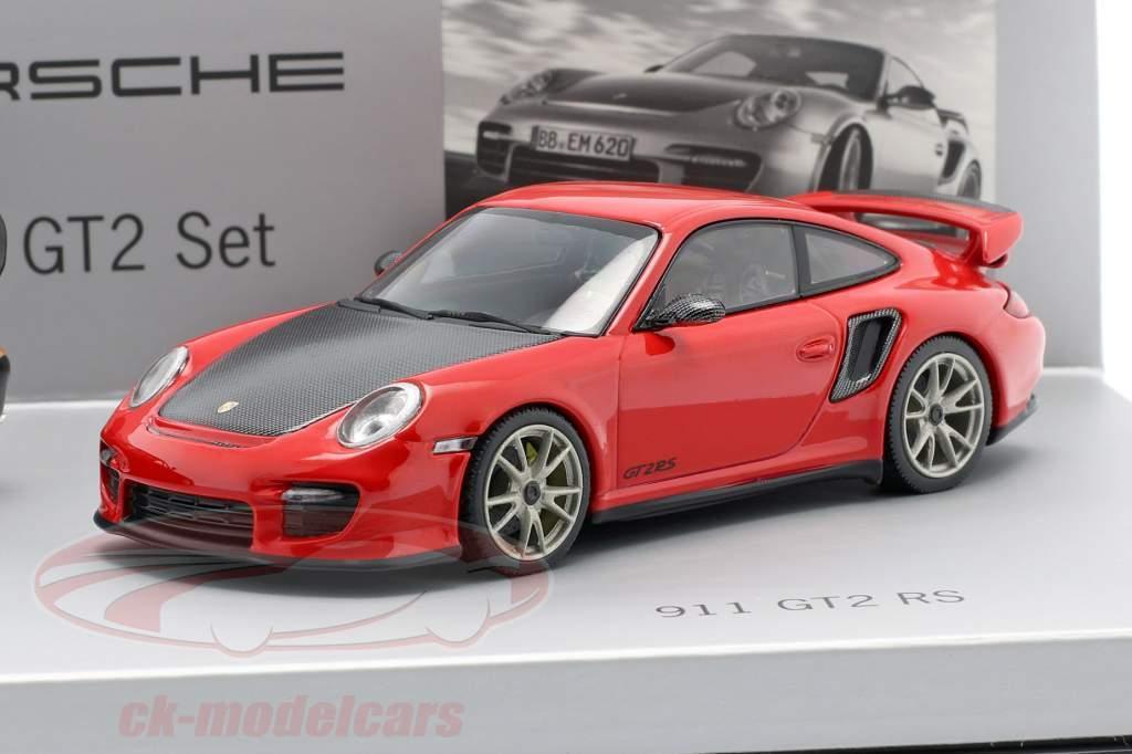 Porsche 911 GT2 Set 993 & 997 RS 1:43 Minichamps