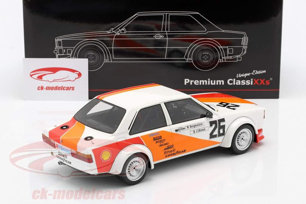 Audi 80 (B2) Gr. 2 #26 3ª 500km Vallelunga ETCC 1980 Bergmeister, Nowak 1:18 Premium ClassiXXs