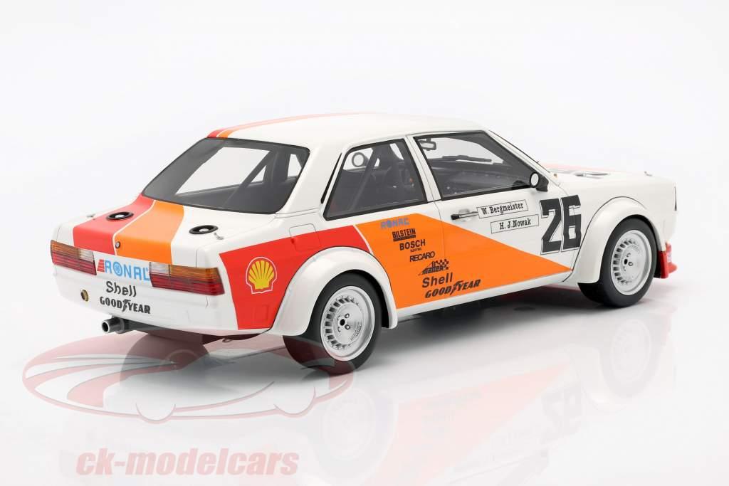 Audi 80 (B2) Gr. 2 #26 Tercero 500km Vallelunga ETCC 1980 Bergmeister, Nowak 1:18 Premium ClassiXXs