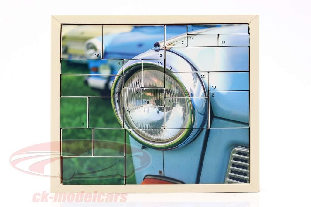 Trabant Calendario de adviento 2020: Trabant 601 azul 1:43 Franzis