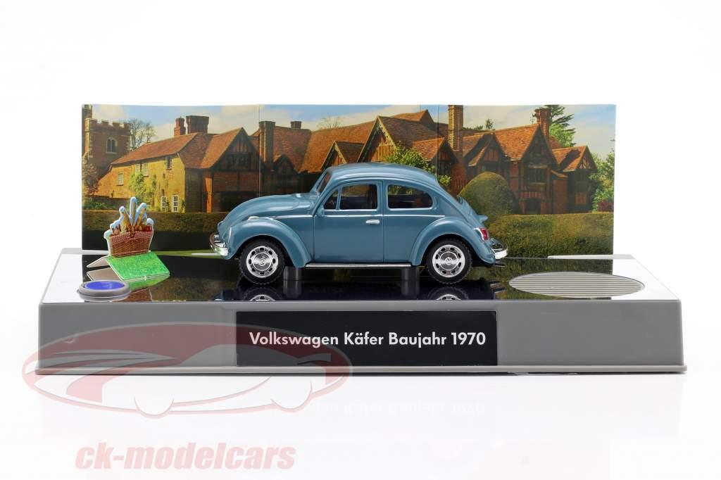 VW Bille Adventskalender 2020: Volkswagen VW Bille blå 1:43 Franzis