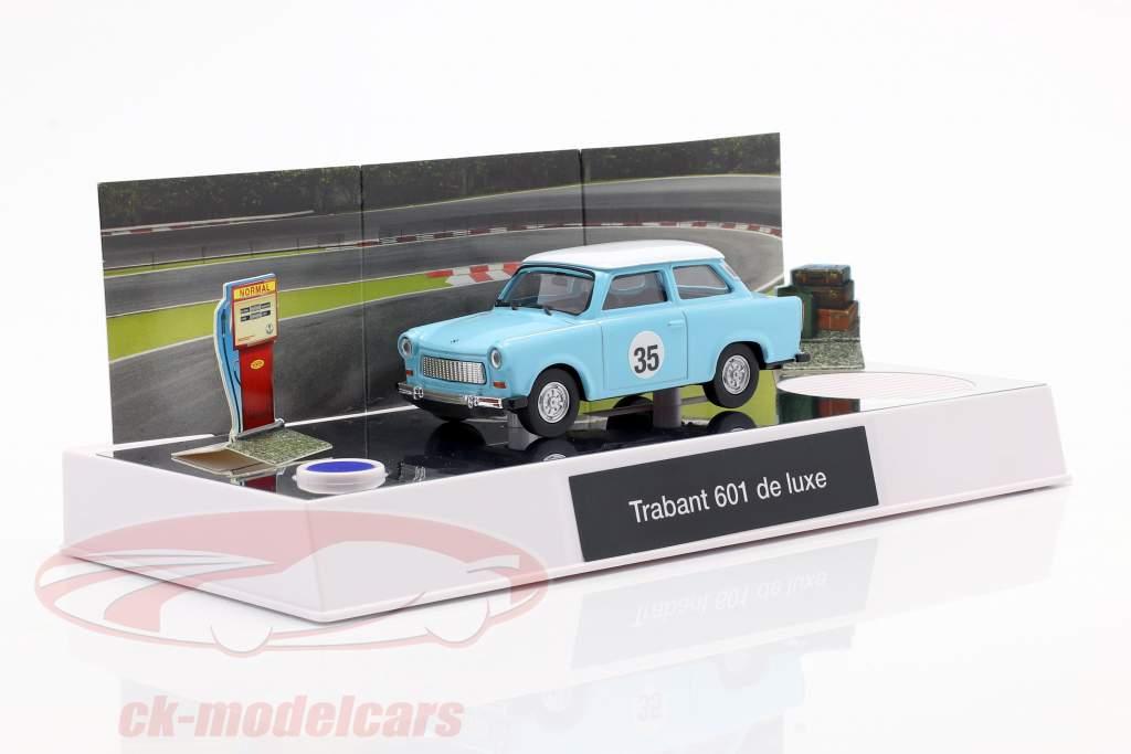 Trabant adventskalender 2020: Trabant 601 blå 1:43 Franzis