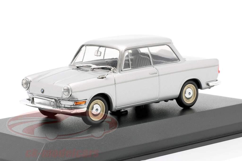 BMW 700 LS Baujahr 1960 silber 1:43 Minichamps