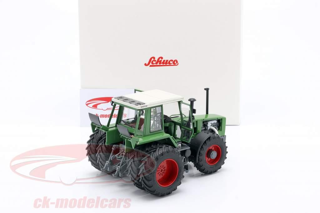 Fendt Favorit 626 LSA traktor Med Dobbelt dæk 1981-1985 grøn 1:32 Schuco