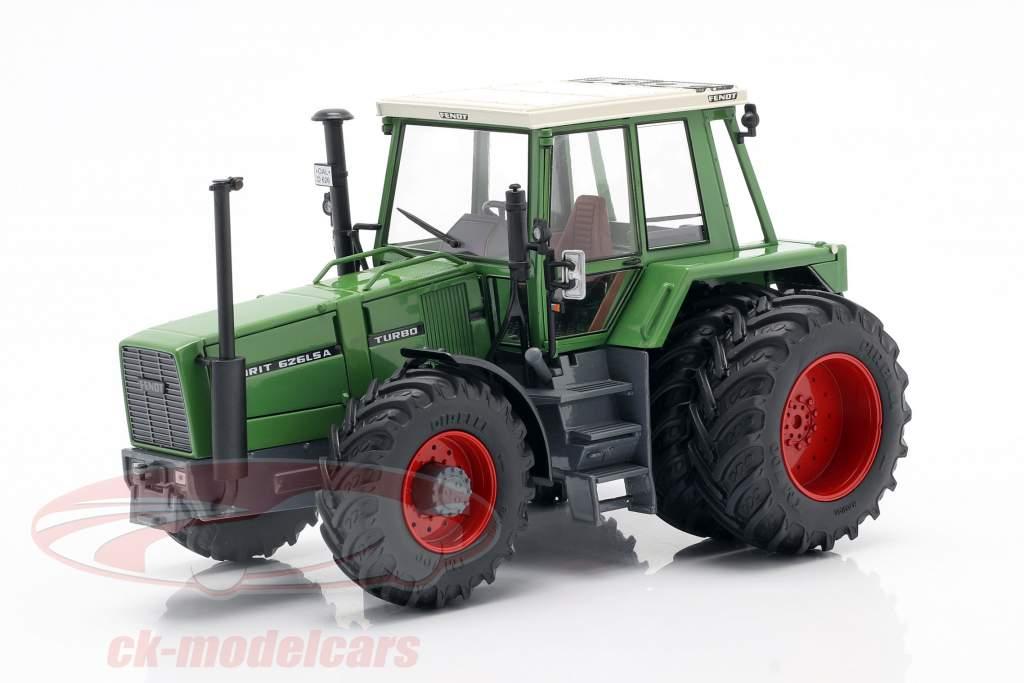 Fendt Favorit 626 LSA Traktor mit Doppelbereifung 1981-1985 grün 1:32 Schuco