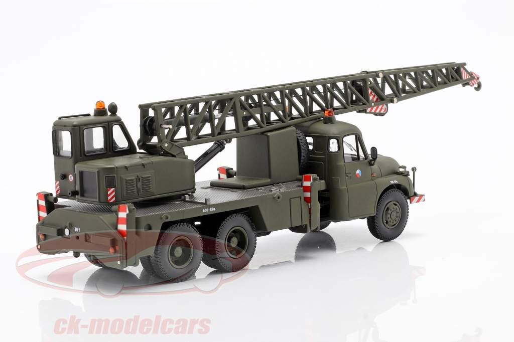 Tatra T148 Camion grue militaire CSSR olive foncé 1:43 Schuco