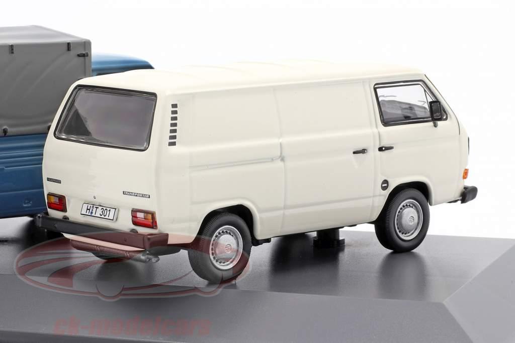 3-Car Set: 40 Jahre Volkswagen VW T3 Bus 1:43 Schuco
