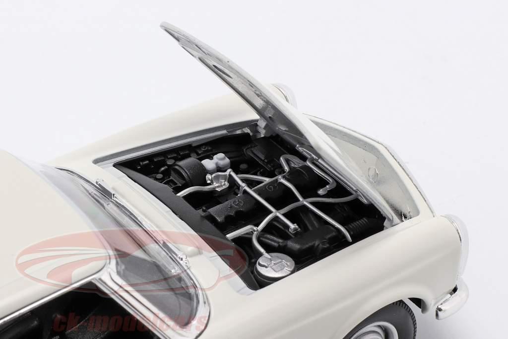 Mercedes-Benz 230 SL (W113) Hardtop Anno di costruzione 1963 bianca 1:24 Welly