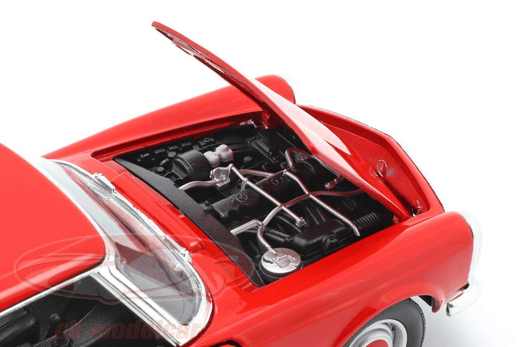 Mercedes-Benz 230 SL (W113) Hardtop Anno di costruzione 1963 rosso 1:24 Welly