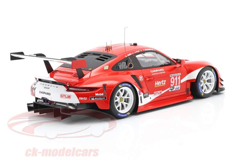 Porsche 911 RSR #911 Coca Cola IMSA campione 2019 Petit LeMans 1:18 Spark