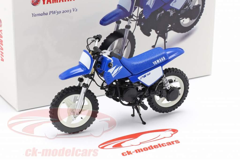 Yamaha PW 50 año 2003 azul 1:12 Spark