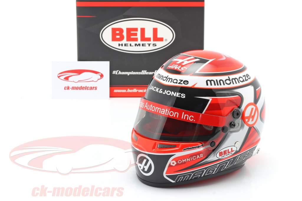 Kevin Magnussen #20 Haas F1 Team formule 1 2020 helm 1:2 Bell