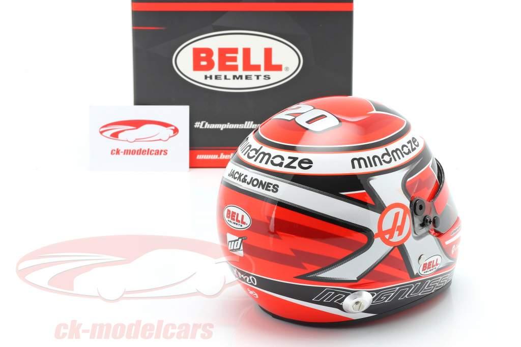 Kevin Magnussen #20 Haas F1 Team fórmula 1 2020 casco 1:2 Bell