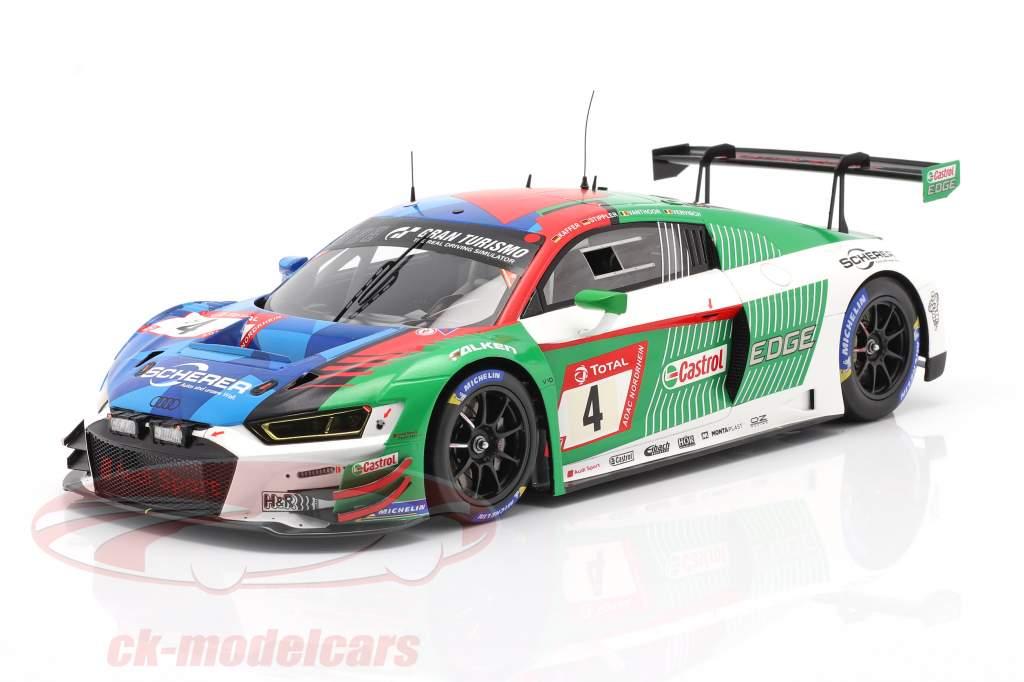 Audi R8 LMS #4 ganador 24h Nürburgring 2019 Audi Sport Team Phoenix 1:18 Spark