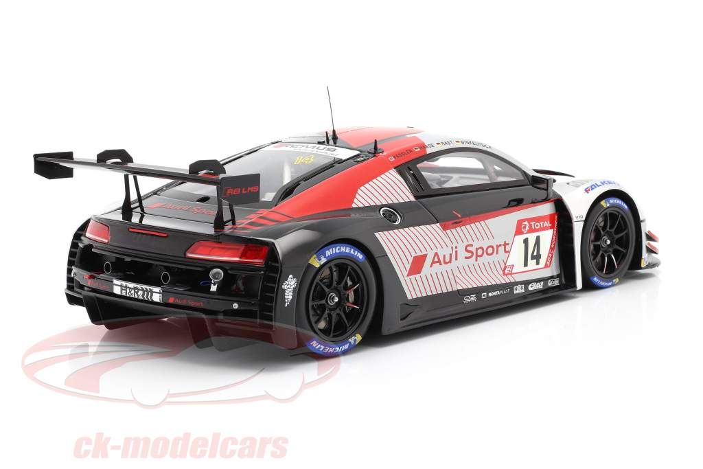 Audi R8 LMS #14 3. 24h Nürburgring 2019 Audi Sport Team Car Collection 1:18 Spark