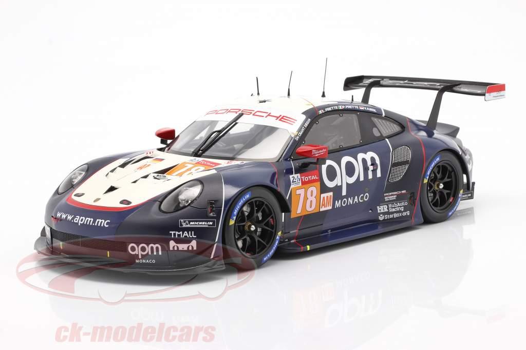 Porsche 911 RSR #78 24h LeMans 2019 Proton Competition 1:18 Spark