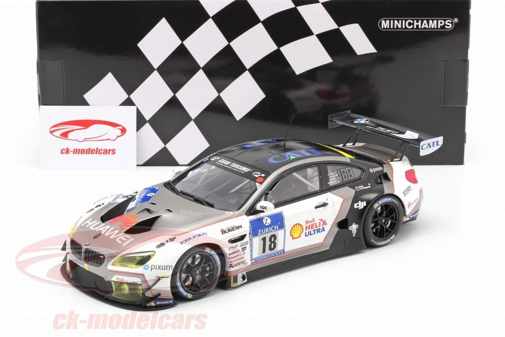 BMW M6 GT3 #18 24h Nürburgring 2016 Schubert Motorsport 1:18 Minichamps
