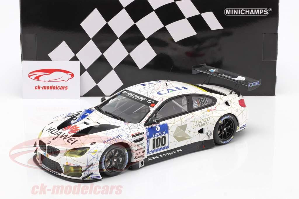 BMW M6 GT3 #100 24h Nürburgring 2016 Schubert Motorsport 1:18 Minichamps