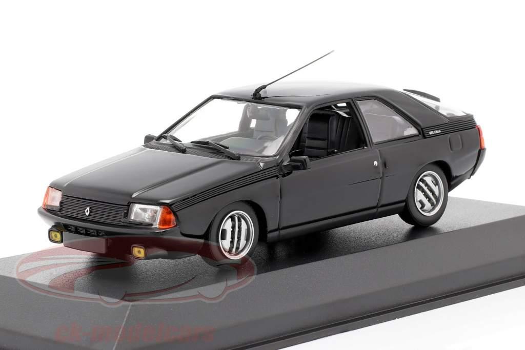 Renault Fuego Año de construcción 1984 negro 1:43 Minichamps