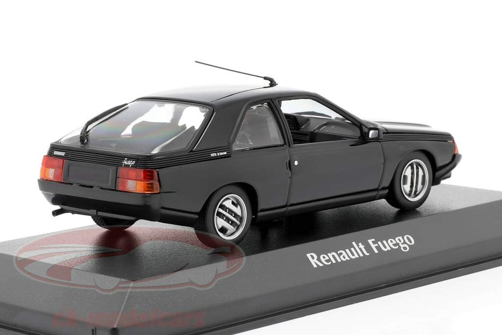 Renault Fuego year 1984 black 1:43 Minichamps