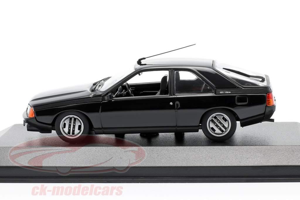 Renault Fuego Anno di costruzione 1984 nero 1:43 Minichamps