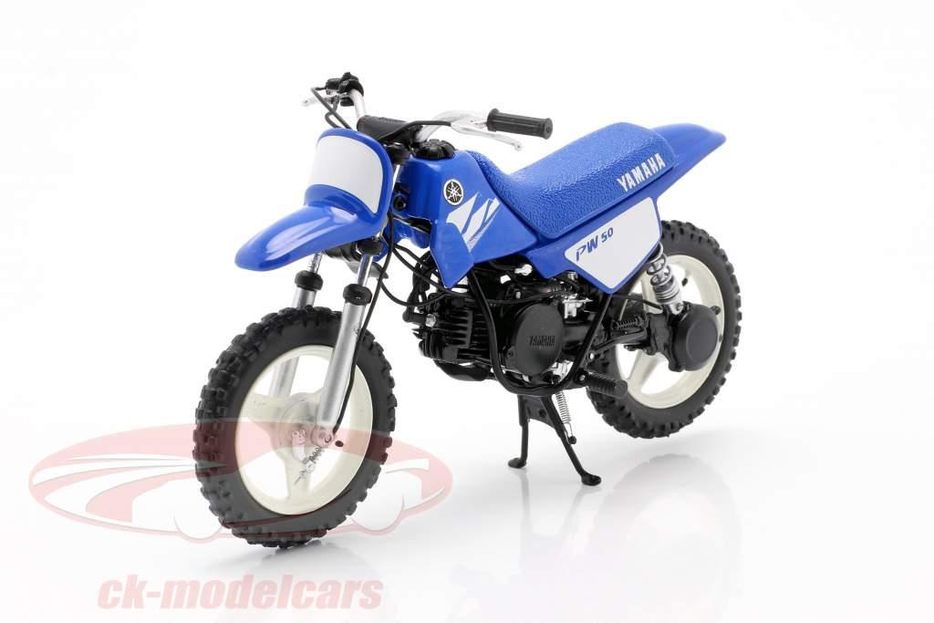 Yamaha PW 50 year 2003 blue 1:12 Spark