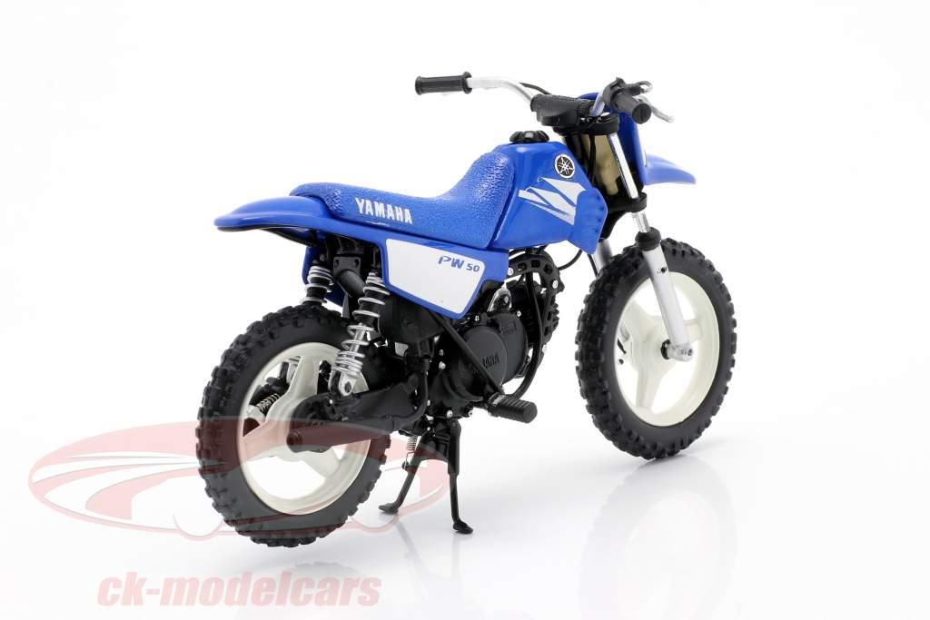 Yamaha PW 50 Baujahr 2003 blau 1:12 Spark
