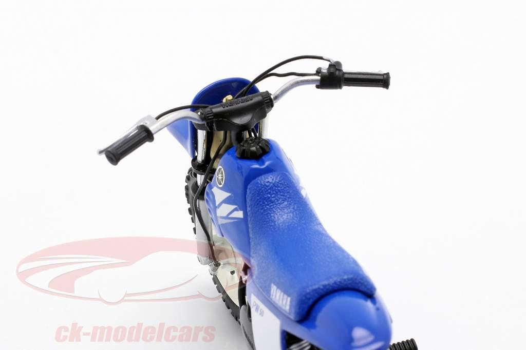 Yamaha PW 50 jaar 2003 blauw 1:12 Spark