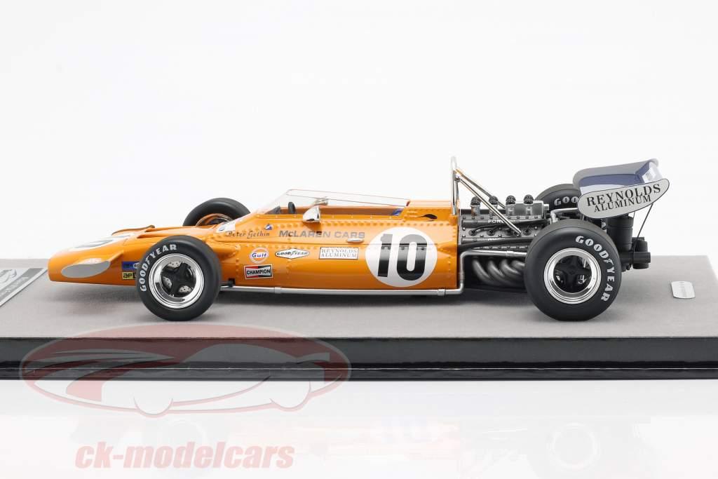 Peter Gethin McLaren M19A #10 Frankrig GP formel 1 1971 1:18 Tecnomodel
