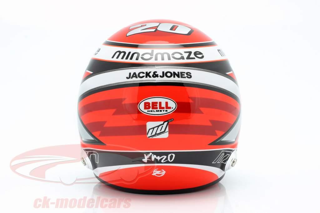 Kevin Magnussen #20 Haas F1 Team formel 1 2020 hjelm 1:2 Bell