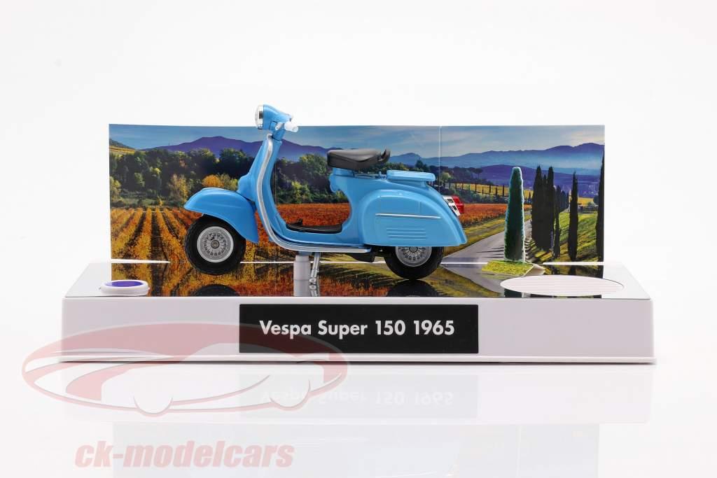 Vespa Adventskalender 2020: Vespa Baujahr 1965 blau 1:18 Franzis