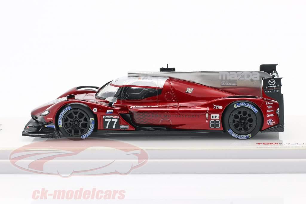 Mazda RT-24P #77 Winnaar IMSA Mobil 1 SportsCar GP 2019 Jarvis 1:43 TrueScale