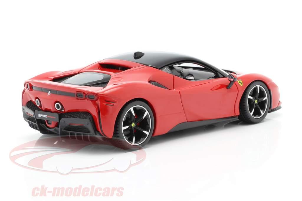 Bburago 1 24 Ferrari Sf90 Stradale Year 2019 Red 18 26028 Model Car 18 26028 4893993260287