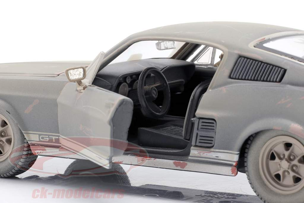 Ford Mustang GT Año de construcción 1967 Sucio versión 1:24 Maisto