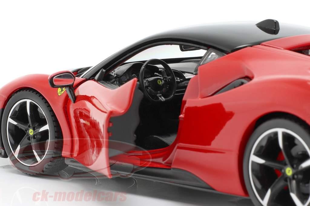 Ferrari SF90 Stradale Año de construcción 2019 rojo 1:24 Bburago