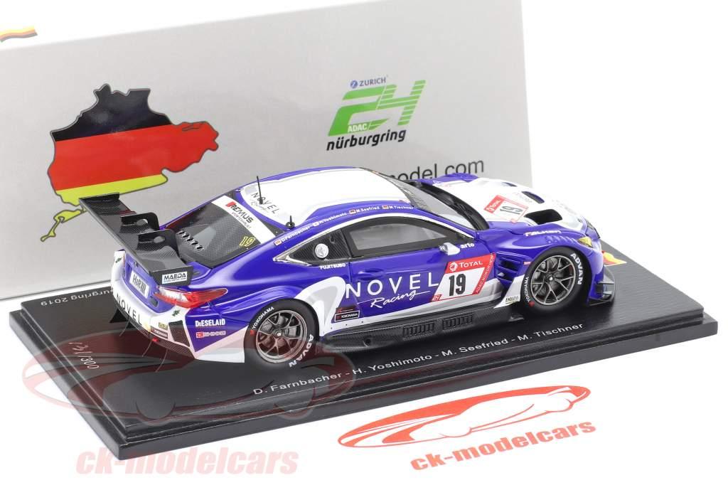 Lexus RC F GT3 #19 24h Nürburgring 2019 Racing Project Bandoh 1:43 Spark