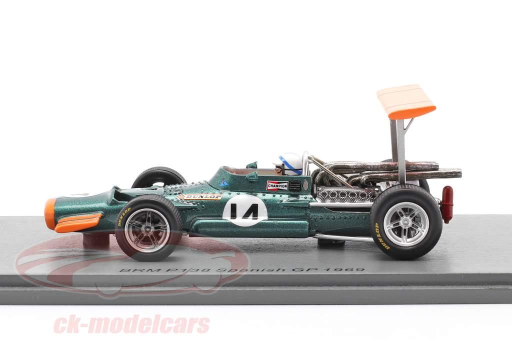 John Surtees BRM P138 #14 5th Spanien GP Formel 1 1969 1:43 Spark